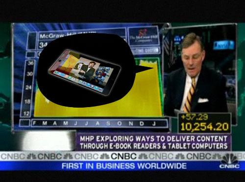 McGraw-Hill Strongly Denied iPad Leak