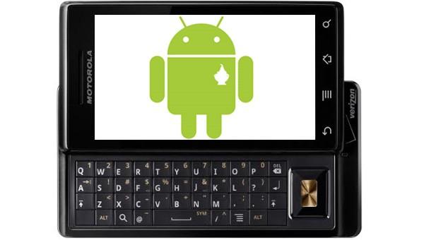 Motorola Droid get updated Android 2.2 next week