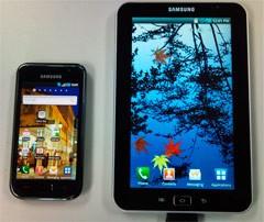 Samsung Q3-bound tablet