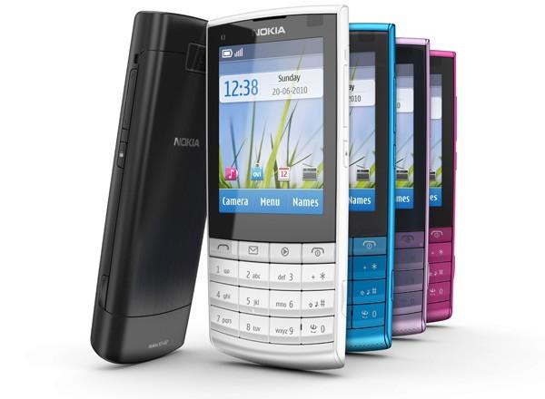 Nokia X3-02 Touch