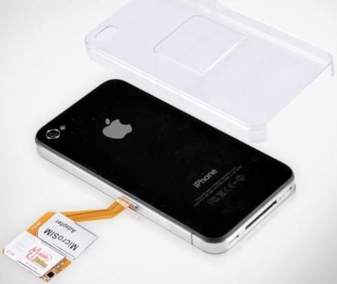 Dual SIM iPhone 4 case