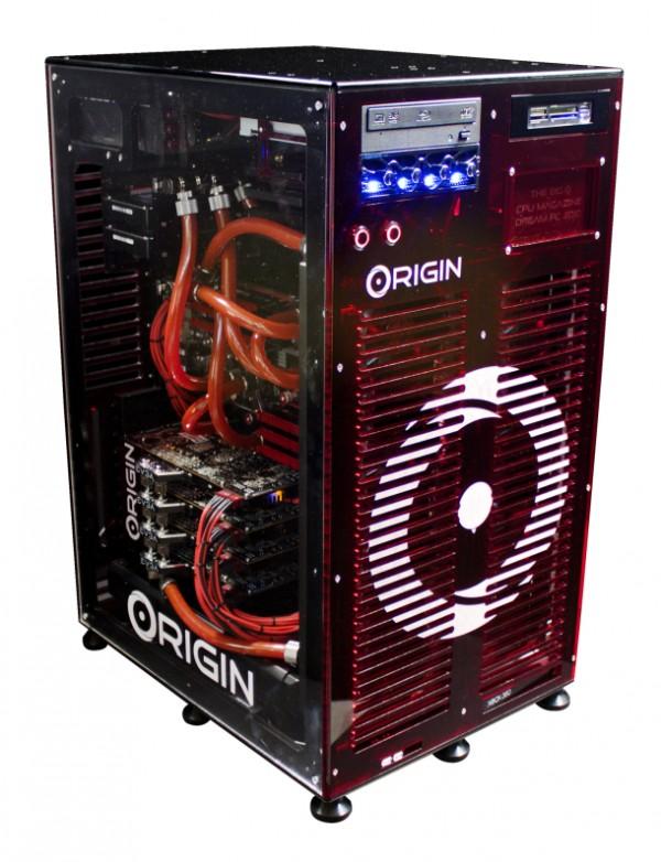 ORIGIN Gaming PC-Xbox 360 Hybrid