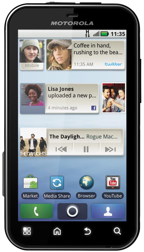 Motorola Defy Hitting T-Mobile