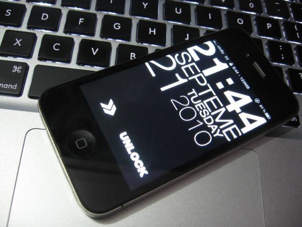 Best Apple iPhone LockScreen Theme – Typophone 4