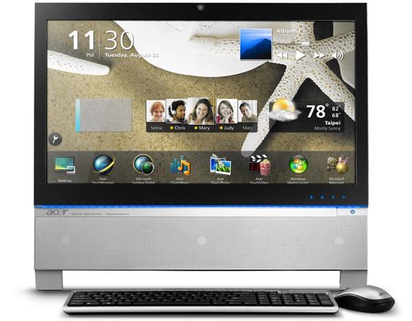 Acer Aspire Z3100 AIO and Revo 3700