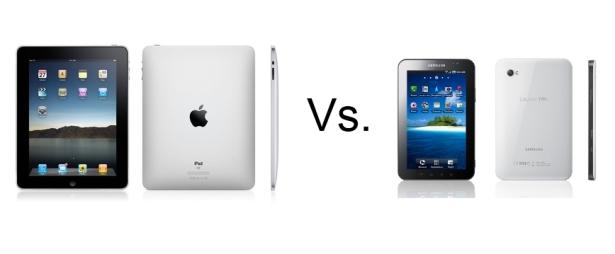 Comparison Between Samsung Galaxy Tab vs Apple iPad