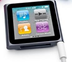 iPod nano with video playback