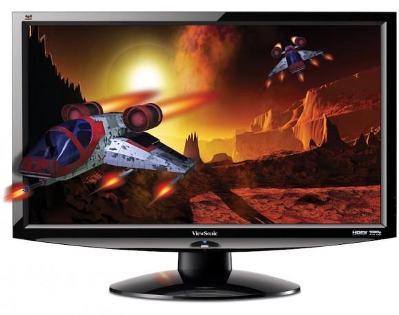 Viewsonic V3D241wm-LED monitor