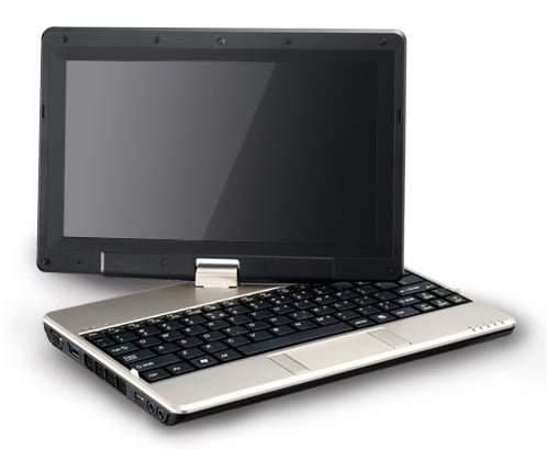 Gigabyte Convertible Netbook T2005M