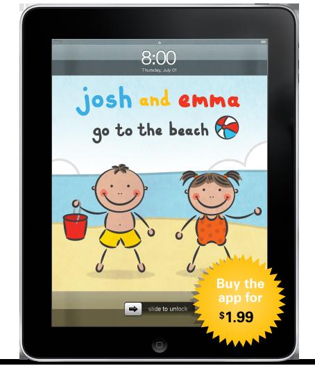 Josh & Emma Go to the Beach 1.0 for iPad