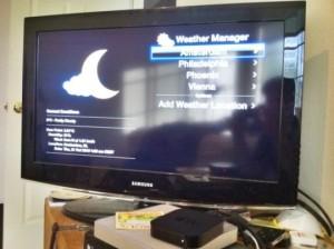 Weather App On Apple TV Is Hacked