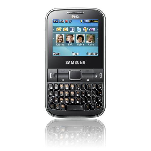Samsung's New Dual-SIM phone Ch@t 322