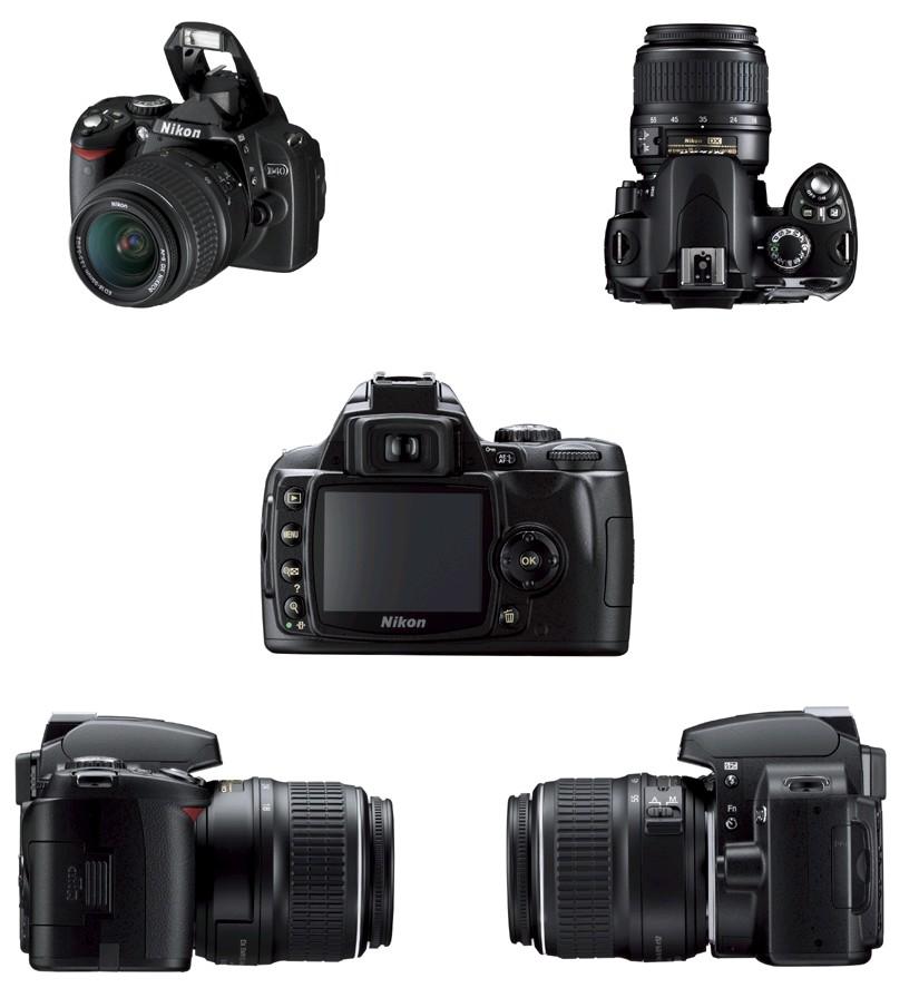 Nikon D40 DSLR Camera ...