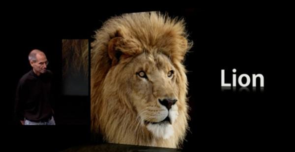 Apple Announces Lion, Mac OS X 10.7