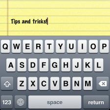 Useful iPhone Keyboard Shortcuts