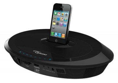 Neo-i iPhone/iPod projector-dock