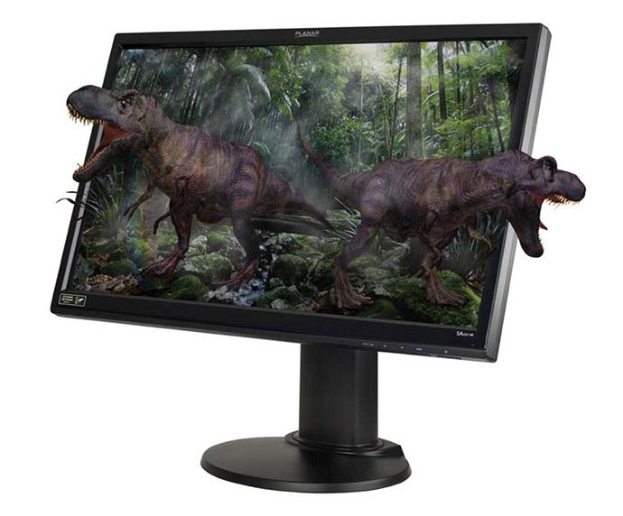 Planar's SA2311W 23″ 3D Vision Ready Monitor