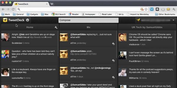 Download TweetDeck App for Google Chrome