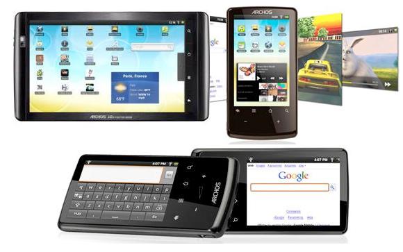 Archos Internet Tablets Get Firmware Update