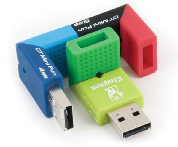 Kingston Releases DataTraveler Mini Fun G2 USB Flash Drive