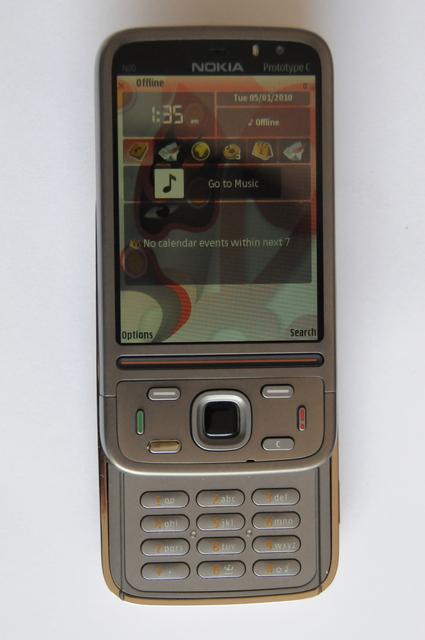 Nokia N00 Prototype C Smartphone Leaked