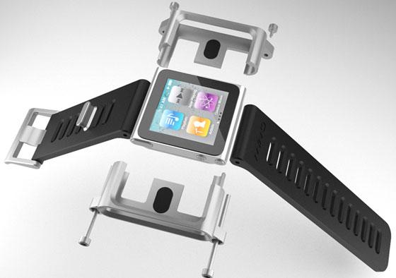 New iPod Wristwatch Project