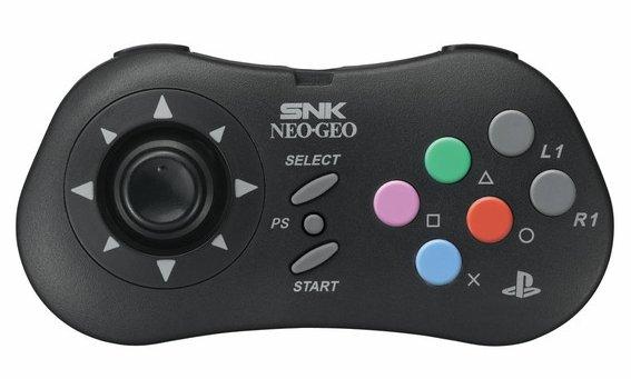 SNK NeoGeo Gamepad For PS3