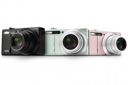 Ricoh CX 5 Camera
