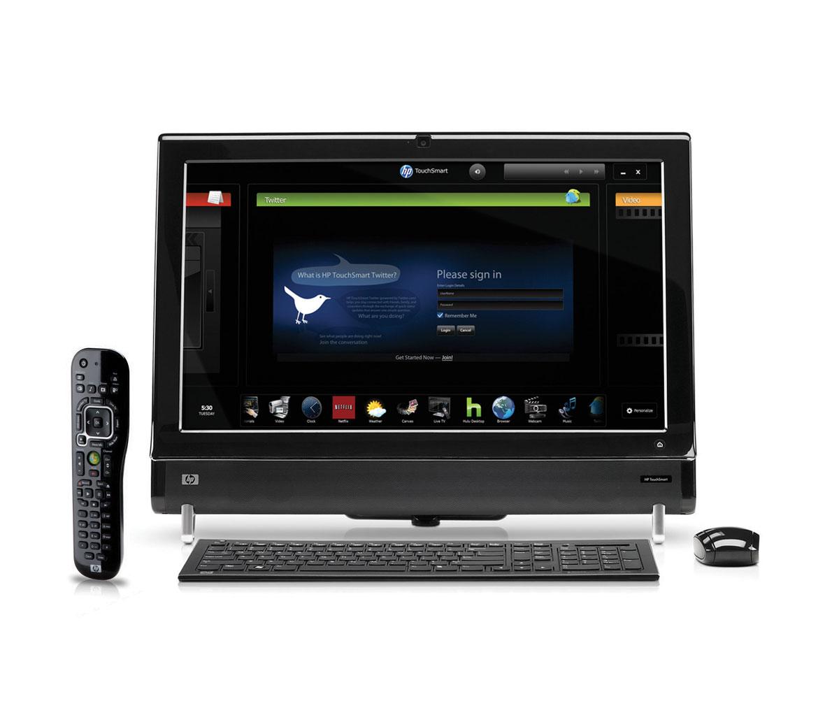 HP TouchSmart 600-1350 All-in-One Desktop PC