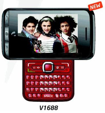 Videocon V1688 Dual SIM Phone