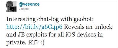 GeoHot To Release Limera1n Jailbreak iOS 4.3, Limesn0w to Unlock iPhone