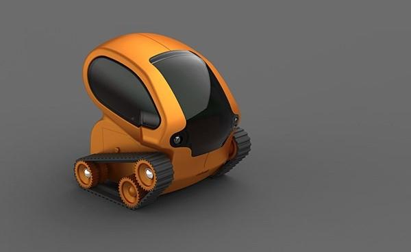 Desk Pets TankBot
