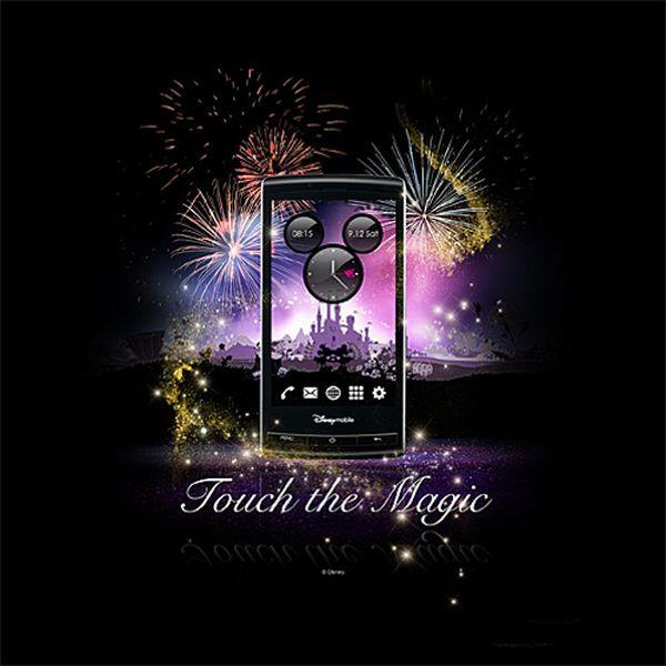 Disney To Sell Sharp Galapagos 003SH Android Phone