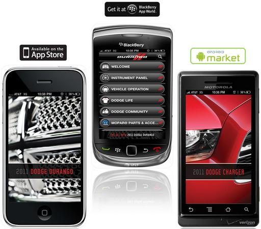 Dodge Smartphone Applications
