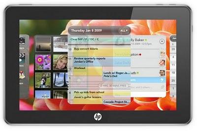 HP webOS Tablet