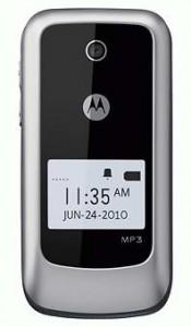 Motorola WX345 Flip Phone Now On Sale