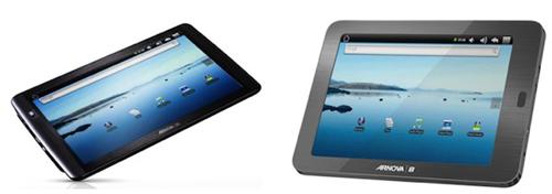 Archos Introduced Archos Arnova 8 and Archos Arnova 10 Budget Android Tablets
