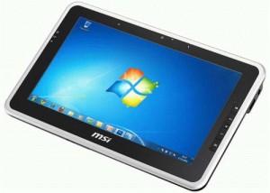 MSI WindPad 110W Windows 7 Tablet Coming at CeBIT 2011