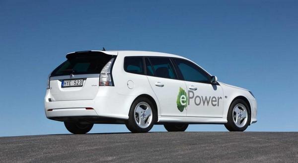 Saab 9-3 ePower EV
