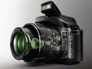 Sony DSC-HX100V and DSC-HX9V SuperZoom Camera