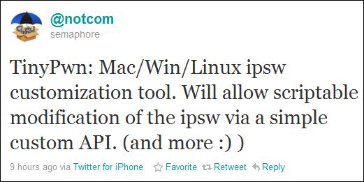 TinyPwn: Backup SHSH Blobs and Jailbreak All iOS Devices Using Custom IPSW Files