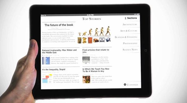 Zite iPad Magazine Application