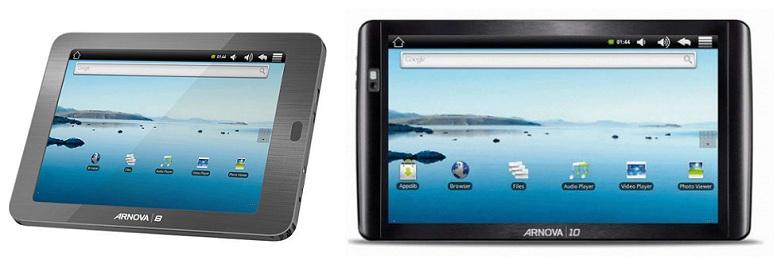 Archos ARNOVA Android Tablets