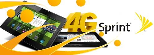 Sprint BlackBerry 4G PlayBook