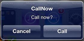 CallNow - Cydia Tweak Coming Soon to Cydia - The Tech Journal