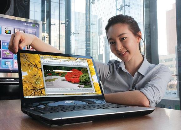 Samsung Sense QX412 Netbook