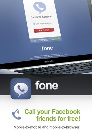 """Win 5 Promo Code For Premium Facebook Calling App """"fone"""""""