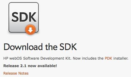 Download webOS 2.1 SDK