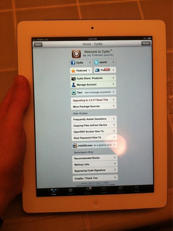 iPad 2 Jailbroken on iOS 4.3[Video]