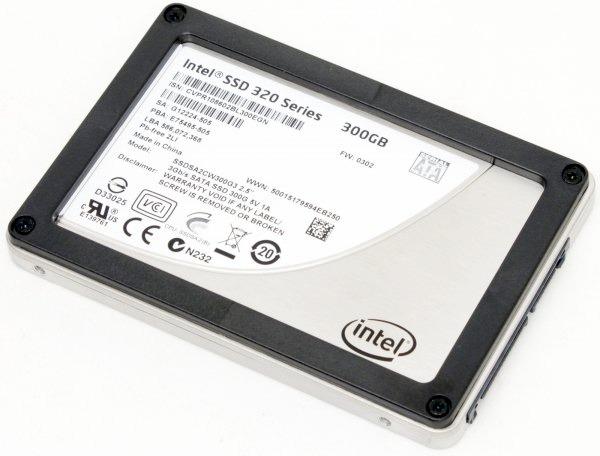 Intel Third-Generation SSD 320 Series